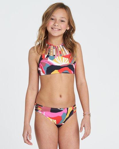 0 Girls' Dream Time High Neck Set Bikini Set  Y202SBDR Billabong