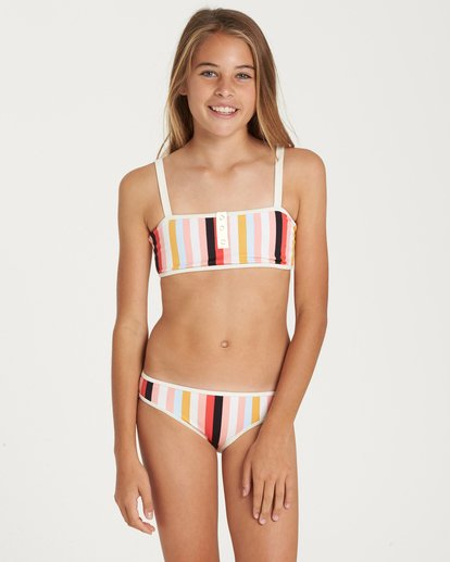 0 Girls' Come On By Tank Swim Set  Y212QBCO Billabong