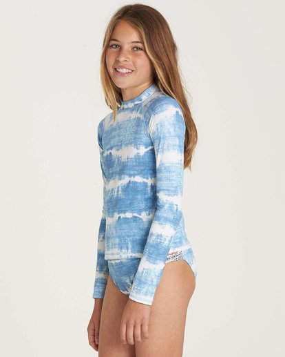 1 Girls' Lil Bliss Rashguard Set  Y213NBLI Billabong