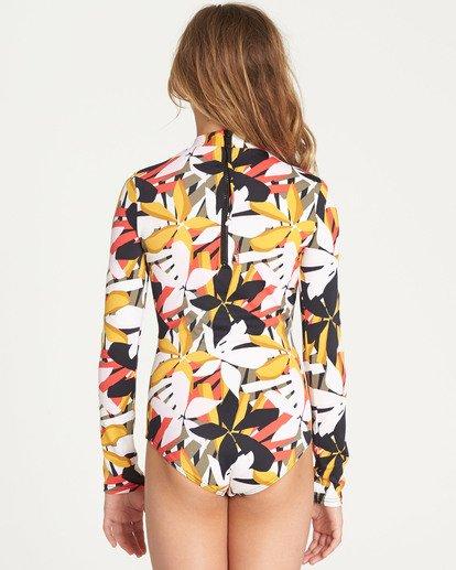 2 Girls' Eastern Sun Bodysuit Rashguard  YR03TBEA Billabong