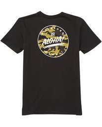 1 Boys' Hi Aloha Tee Black B401NBAO Billabong