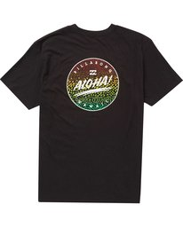 1 Boys' Aloha Tee Black B401PBAO Billabong