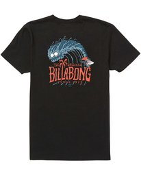 1 Boys' Banyan Tee Black B401QBBA Billabong