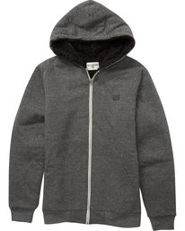 ALL DAY SHERPA ZIP  B660QBAS