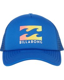 1 Boys' Podium Trucker Hat Blue BAHTGPOD Billabong
