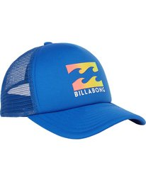 2 Boys' Podium Trucker Hat Blue BAHTGPOD Billabong