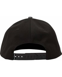 3 Boys' All Day Snapback Hat Black BAHTLADS Billabong