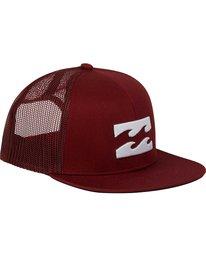 2 Boys' All Day Trucker Hat Brown BAHWNBAD Billabong