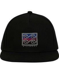 1 Boys' Re Issue Snapback Hat Black BAHWNBRE Billabong