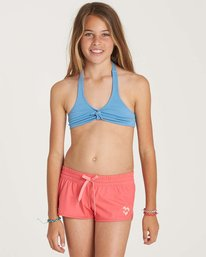0 Girls' Sol Searcher Volley Boardshort Pink G101NBSO Billabong