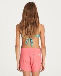 "2 Girls' Sol Searcher 5"" Boardshort Pink G102LSOL Billabong"