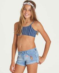 1 Girls' Cool Side Shorts Blue G203PBCO Billabong
