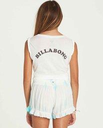 2 Girls' Wild Wave Shorts  G204PBWI Billabong