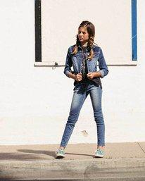 0 Girls' Side To Side Pant Blue G301NBSI Billabong