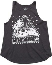 1 Girls' Smile At The Sun Tank  G414NBSM Billabong