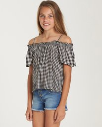1 Girls' Summer All Year Top Black G501QBSU Billabong