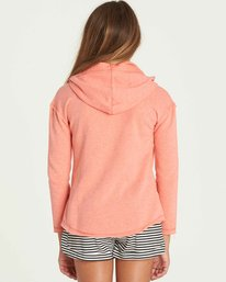 2 Girls' Days Off Hoodie Pink G602PBDA Billabong