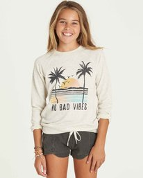 0 Girls' This Time Crew Neck Fleece  G605PBTH Billabong