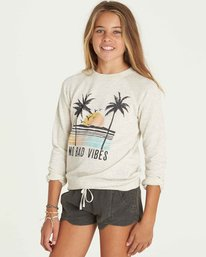 1 Girls' This Time Crew Neck Fleece  G605PBTH Billabong