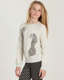 1 Girls' Running Free Fleece Pullover  G606MRUN Billabong