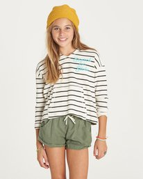 0 Girls' Almost There Top Black G903LALM Billabong