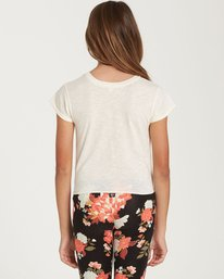 2 Girls' Knot It Top Beige G905QBKN Billabong