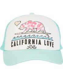 1 Girls' Pitstop Trucker Hat  GAHTHPIT Billabong