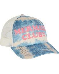 2 Girls' Ohana Trucker Hat Blue GAHWNBOH Billabong