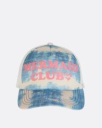5 Girls' Ohana Trucker Hat Blue GAHWNBOH Billabong