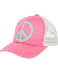 0 Girls' Ohana Trucker Hat Pink GAHWPBOH Billabong