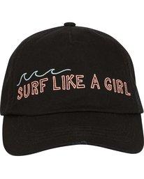 1 Girls' Surf Club Baseball Hat Black GAHWQBSU Billabong