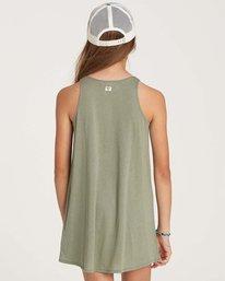 2 Girls' Choose You Dress Green GD01NBCH Billabong