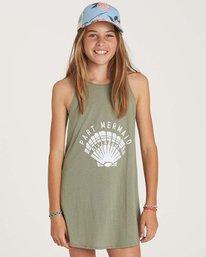 0 Girls' Choose You Dress Green GD01NBCH Billabong