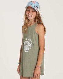 1 Girls' Choose You Dress Green GD01NBCH Billabong