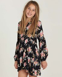 1 Girls' Tomorrows Child Dress Black GD02MTOM Billabong