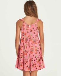 2 Girls' Sundazer Dress Pink GD05PBSU Billabong