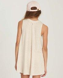2 Girls' Peace Out Dress Beige GD06MPEA Billabong