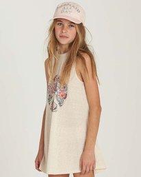 1 Girls' Peace Out Dress Beige GD06MPEA Billabong