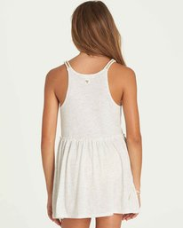 2 Girls' Soul Wax Dress Grey GD06PBSO Billabong