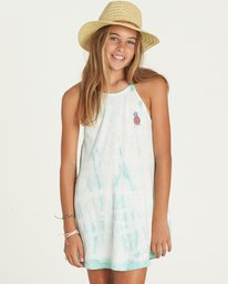 0 Girls' Namaste All Day Dress  GD07PBNA Billabong
