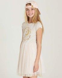 1 Girls' Sunkissed Nights Dress White GD09MSUN Billabong