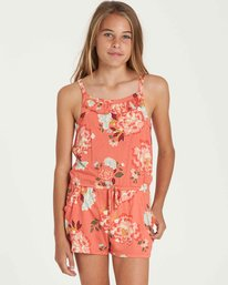0 Girls' Only One Romper Purple GN01QBON Billabong
