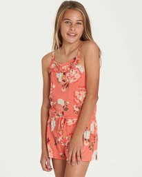 1 Girls' Only One Romper Purple GN01QBON Billabong