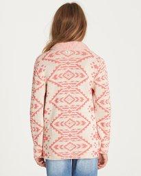 2 Girls' Tripped Up Sweater White GV02LTRI Billabong