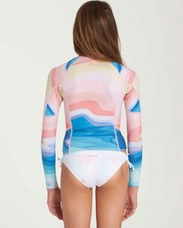2 Girls' 1mm Peeky Wetsuit Jacket  GWSHQBSL Billabong