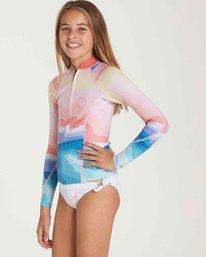 1 Girls' 1mm Peeky Wetsuit Jacket  GWSHQBSL Billabong