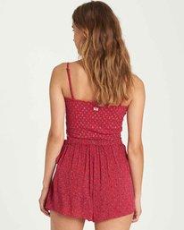 2 Skirt Flirt Wrap Skort Red J204QBSK Billabong