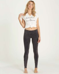 0 Many Times Pant Black J302LMAN Billabong