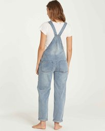 2 All Over Denim Overalls Blue J339QBAL Billabong