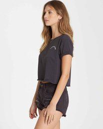 1 Dream All Day Crop Tee Black J436QBDR Billabong